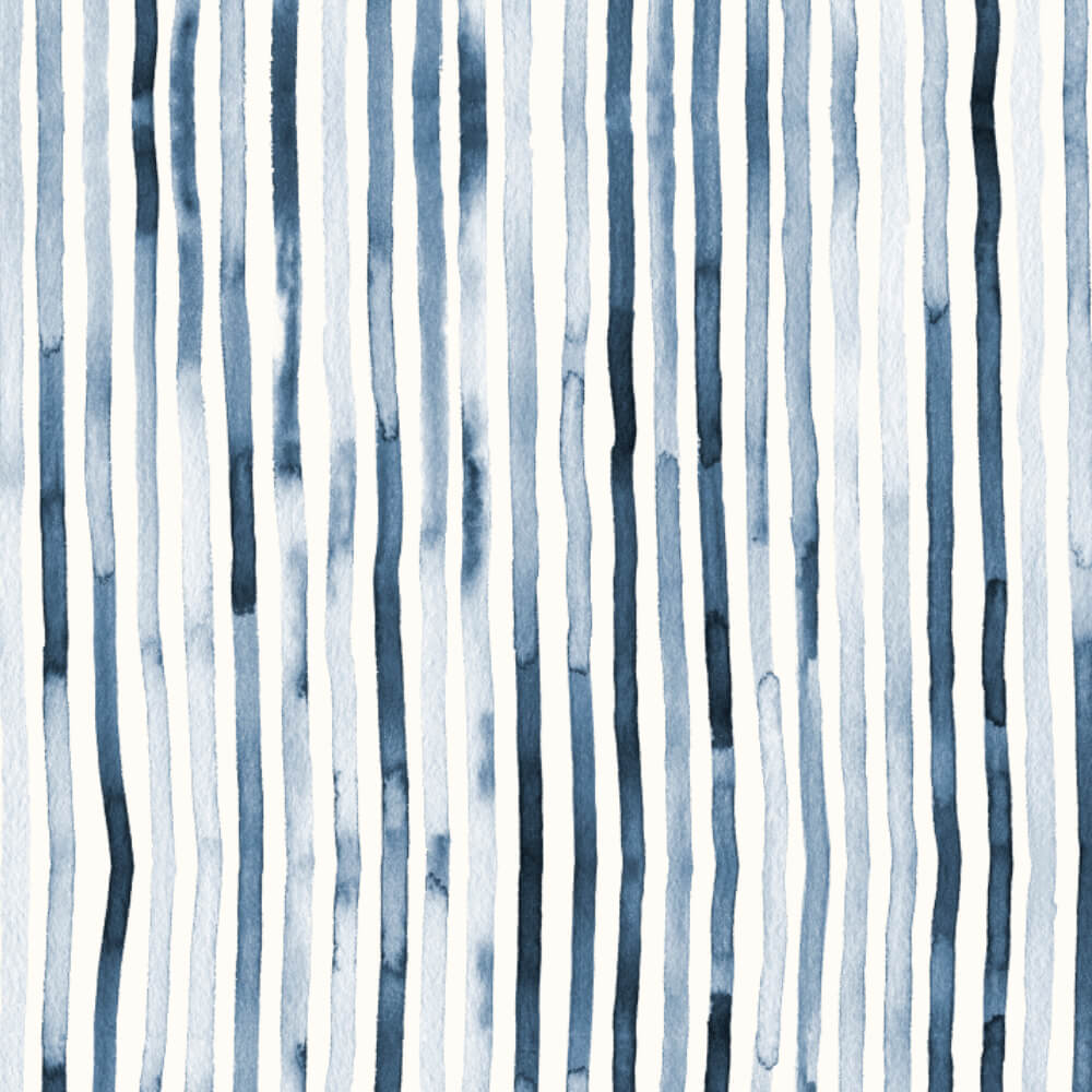 Watercolor Stripes by Studio Salz